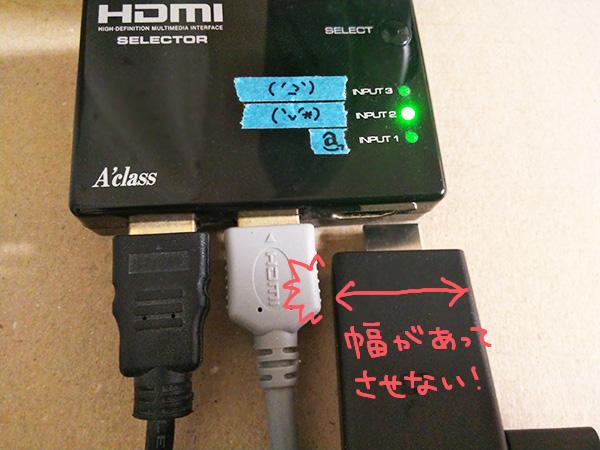 HDMIハブ