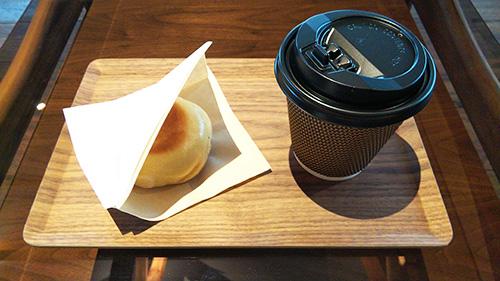 おやきとコーヒー